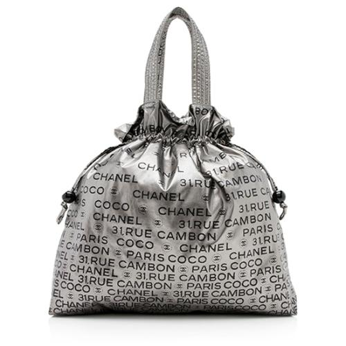 Chanel Coated Canvas Unlimited Drawstring Tote - FINAL SALE