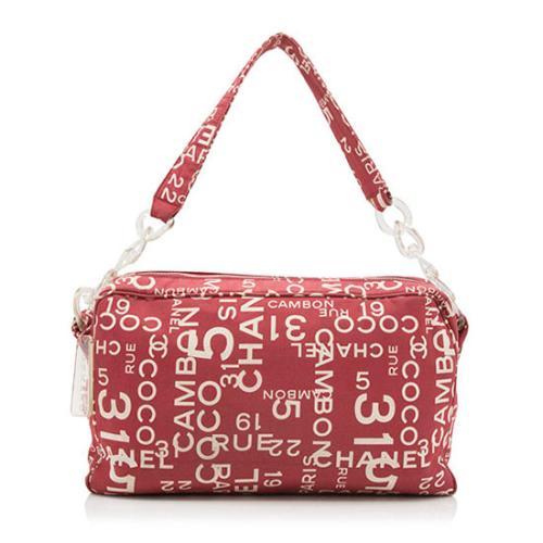 Chanel Coco Canvas Shoulder Bag