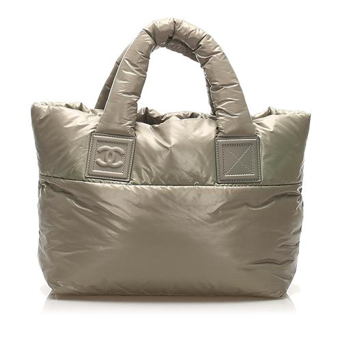 Chanel Cocoon Leather Tote Bag