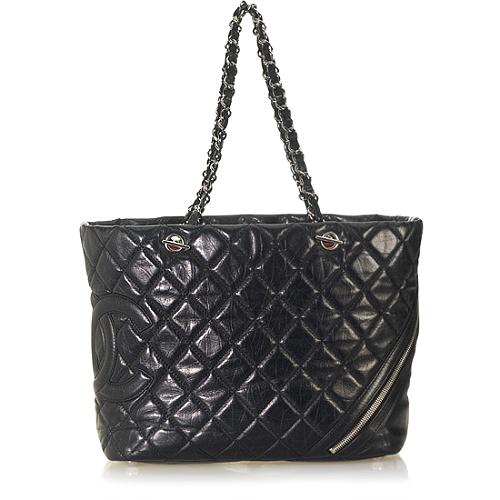 Chanel Cotton Club Quilted Tote