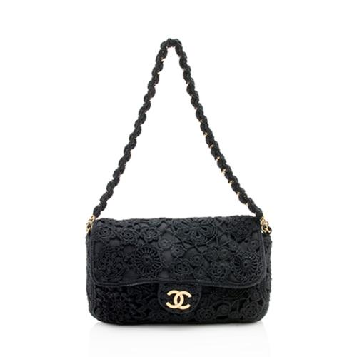 Chanel Crochet Flap Shoulder Bag