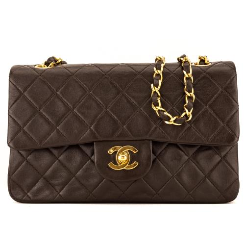 Chanel Lambskin Classic Small Double Flap Bag