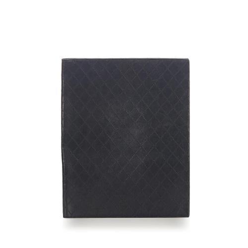 Chanel Diamond Stitch Leather Business Bag