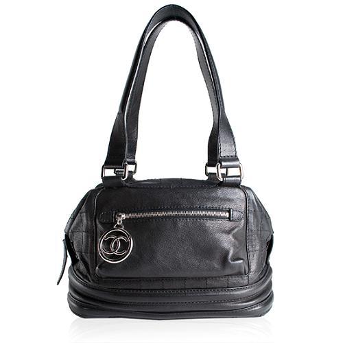 Chanel Essential Bowler Satchel Handbag
