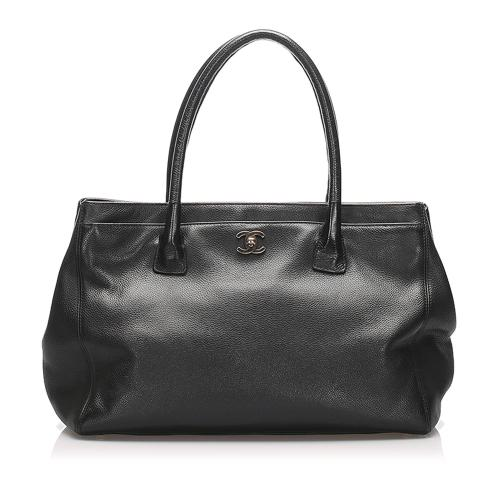 Chanel Executive Cerf Caviar Leather Handbag