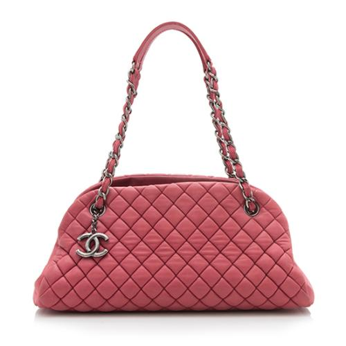 Chanel Quilted Leather Just Mademoiselle Small Bowler Bag - FINAL SALE