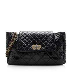 Chanel Glazed Calfskin Reissue Accordion Shoulder Bag