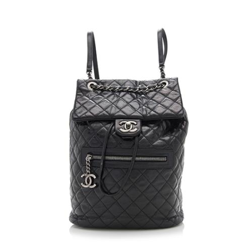 Chanel Glazed Leather Mountain Backpack - FINAL SALE