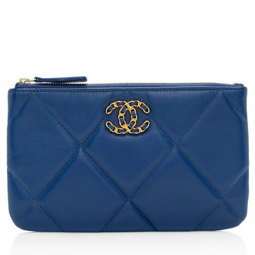Chanel Goatskin 19 Small O-Case