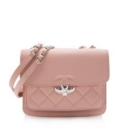 Chanel Goatskin CC Box Flap Bag