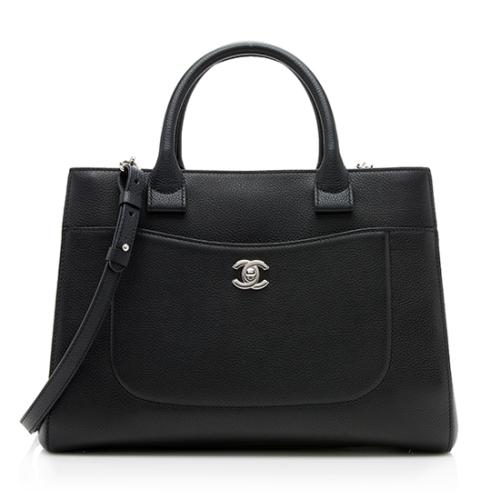 Chanel Grained Calfskin Neo Exectuive Small Tote