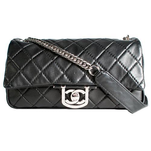 Chanel Icons Secret Label Jumbo Flap Shoulder Handbag