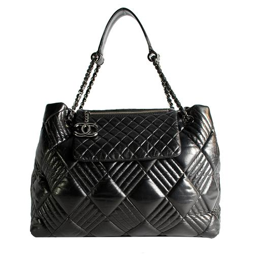 Chanel In & Out Quilted Tote