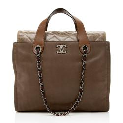 Chanel Iridescent Calfskin In The Mix Tote