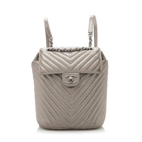 Chanel Iridescent Calfskin Spirit Small Backpack