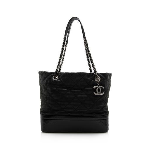 Chanel Iridescent Calfskin VIP Grand Shopping Tote