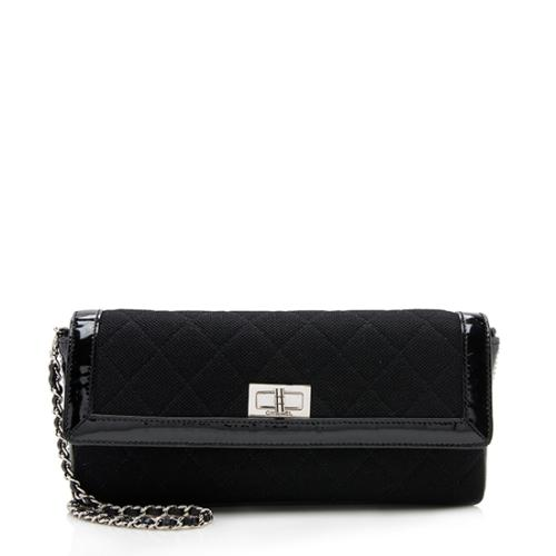 Chanel Jersey Mademoiselle East West Flap Bag