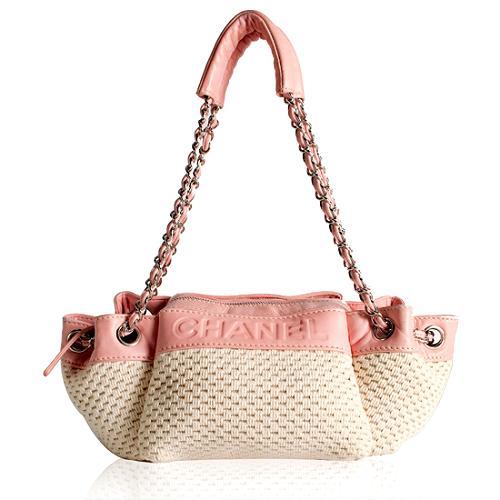 Chanel LAX Knit Shoulder Handbag