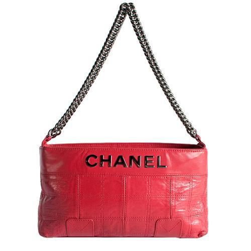 Chanel LAX Quilted Shoulder Handbag