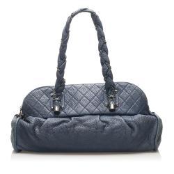 Chanel Lambskin Lady Braid Shoulder Bag