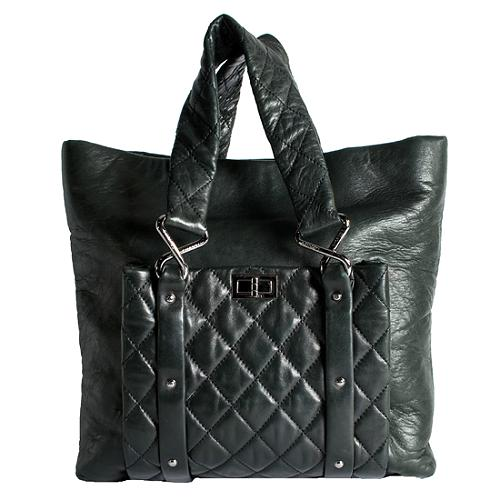 Chanel Lambskin 8 Knots Large Tote