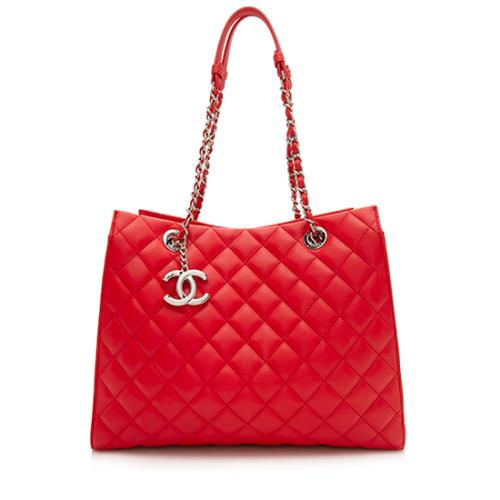 Chanel Lambskin Chic And Soft Large Shopping Tote