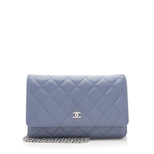Chanel Lambskin Classic Wallet On Chain Bag 0e4a7a518