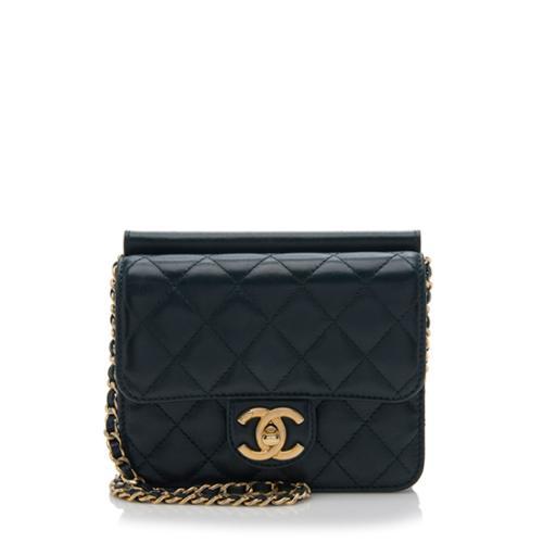 Chanel Lambskin Crossing Times Mini Flap Bag