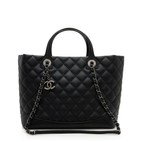 Chanel Lambskin Easy Small Shopping Tote