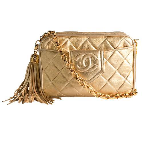 Chanel Lambskin Evening Handbag