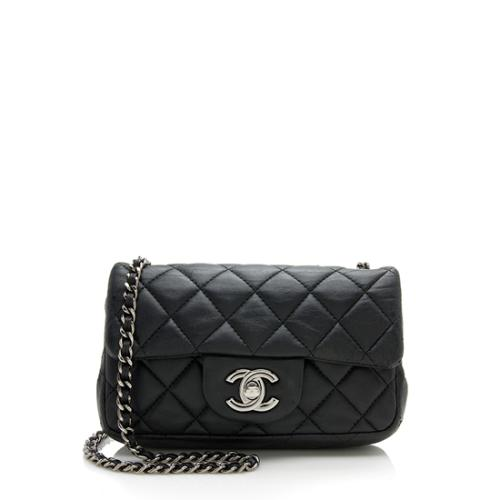 Chanel Lambskin Extra Mini Flap Shoulder Bag