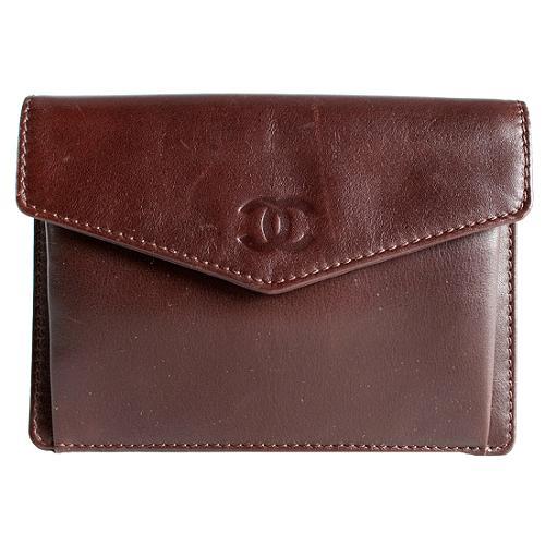Chanel Lambskin French Purse Wallet