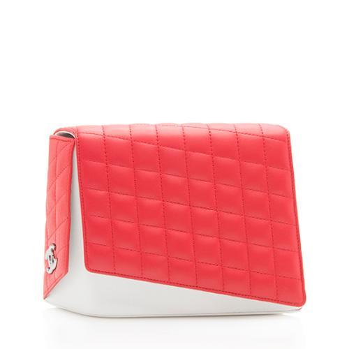 Chanel Lambskin Fresh Air Clutch
