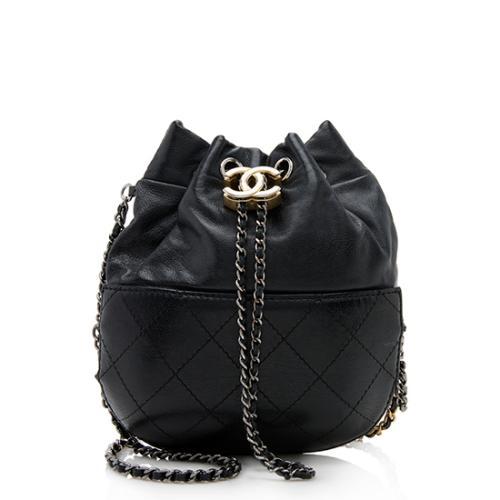 2edebd81bdaf Chanel Lambskin Gabrielle Small Bucket Bag