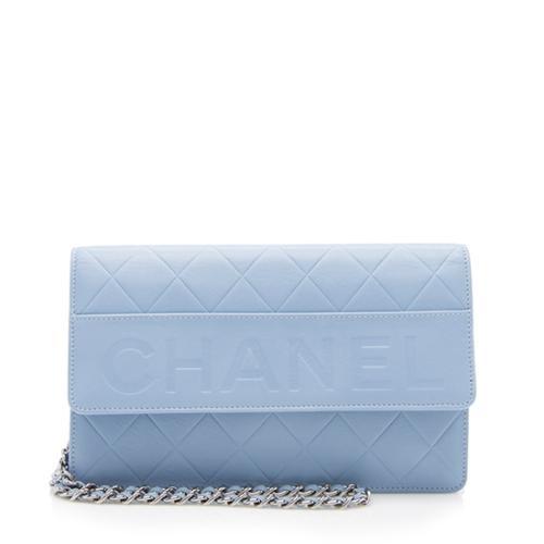 Chanel Lambskin LAX Wallet on Chain Bag