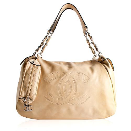 Chanel Lambskin Large Messenger Bag