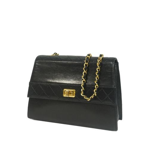 Chanel Lambskin Chain Shoulder Bag