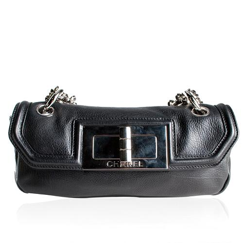 Chanel Lambskin Mademoiselle Jewelry Chain Flap Handbag