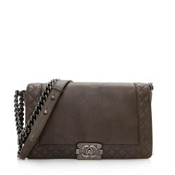 Chanel Lambskin Reverso Medium Boy Bag