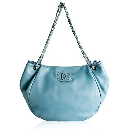 Chanel Lambskin Sensual CC Shopping Tote