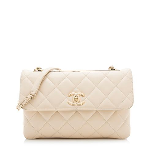 Chanel Lambskin Trendy CC Shoulder Bag