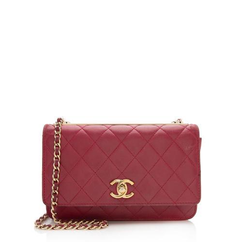 Chanel Lambskin Trendy Wallet on Chain Bag - FINAL SALE