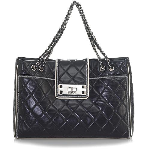 Chanel Large Leather Tote