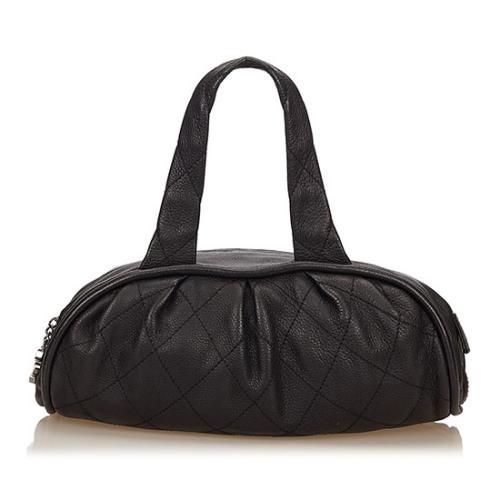 Chanel Leather Le Marais Bowler Bag