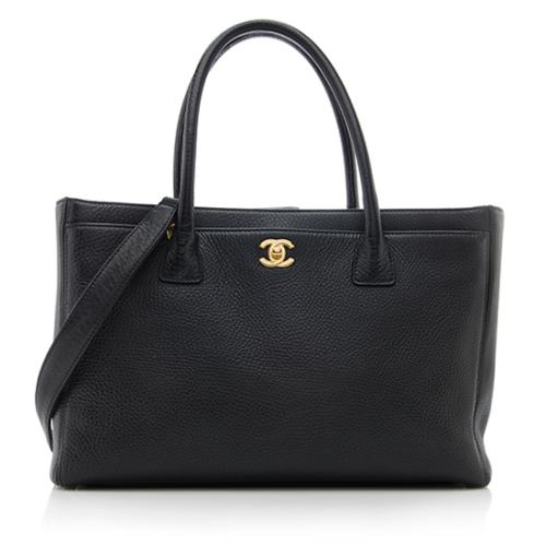 Chanel Leather Cerf Classic Executive Tote