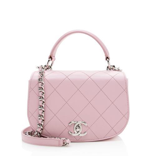 Chanel Leather Ring My Bag Crossbody Bag