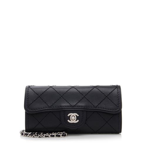 Chanel Leather Sac Rabat Mini Wallet on Chain Bag