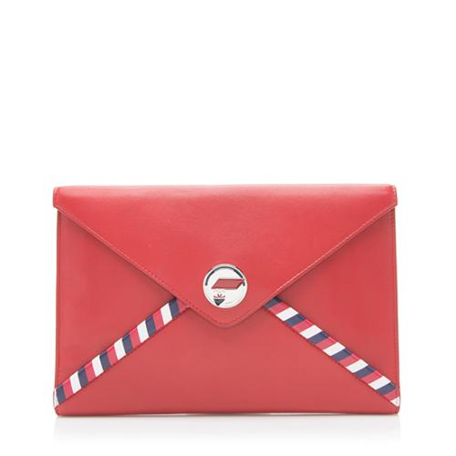 Chanel Leather Small Envelope Clutch