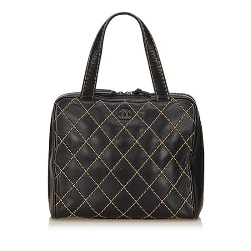 Chanel Calfskin Surpique Large Tote
