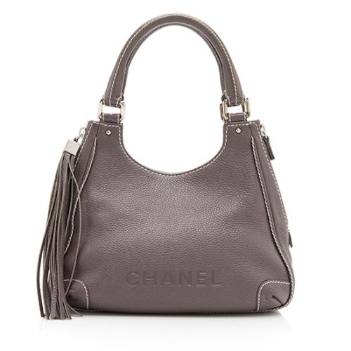 Chanel Leather Tassel Shoulder Bag